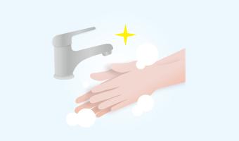 うがい、手洗いの徹底